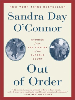 cover image of Out of Order