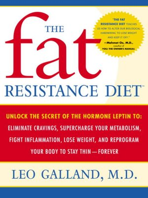 cover image of The Fat Resistance Diet