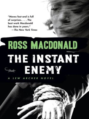 cover image of The Instant Enemy
