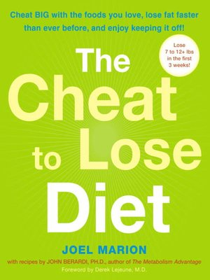 cover image of The Cheat to Lose Diet