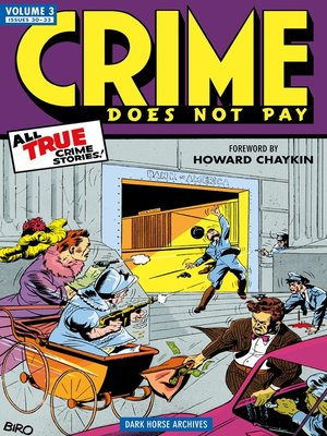 cover image of Crime Does Not Pay Archives, Volume 3