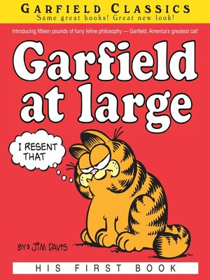 cover image of Garfield at Large