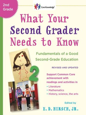 cover image of What Your Second Grader Needs to Know (Revised and Updated)