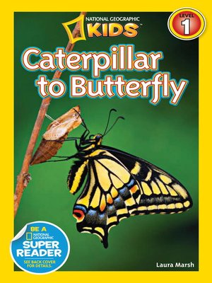 cover image of National Geographic Readers: Caterpillar to Butterfly