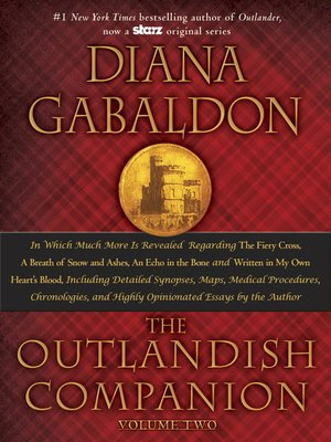 cover image of The Outlandish Companion Volume Two