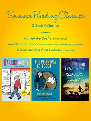 cover image of Summer Reading Classics Three-Book Collection