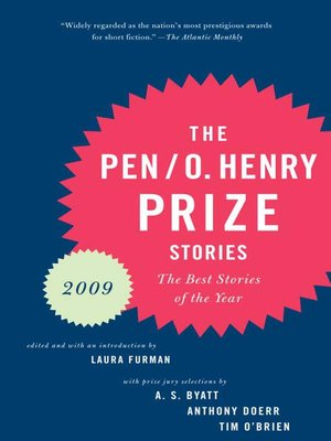 cover image of PEN/O.Henry Prize Stories 2009