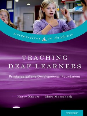 cover image of Teaching Deaf Learners
