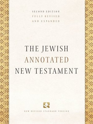 cover image of The Jewish Annotated New Testament