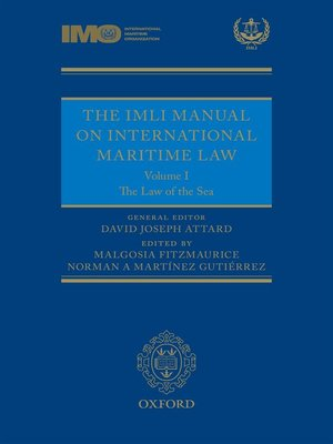 cover image of The IMLI Manual on International Maritime Law