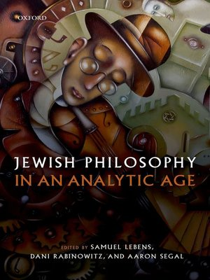 cover image of Jewish Philosophy in an Analytic Age