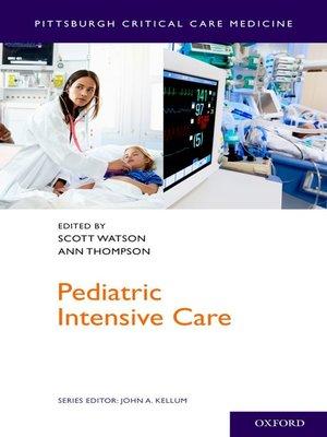 cover image of Pediatric Intensive Care