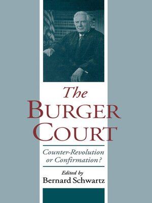 cover image of The Burger Court