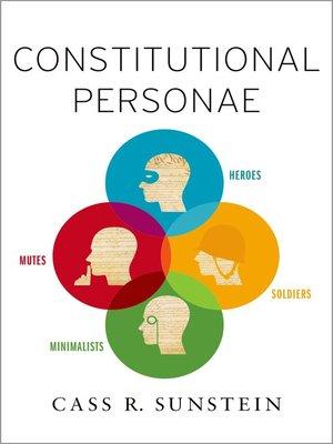 cover image of Constitutional Personae