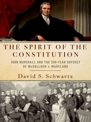 cover image of The Spirit of the Constitution