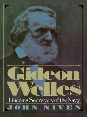 cover image of Gideon Welles