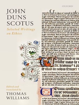 cover image of John Duns Scotus