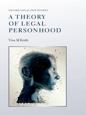 cover image of A Theory of Legal Personhood