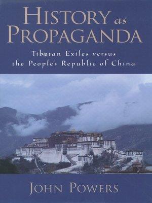 cover image of History As Propaganda