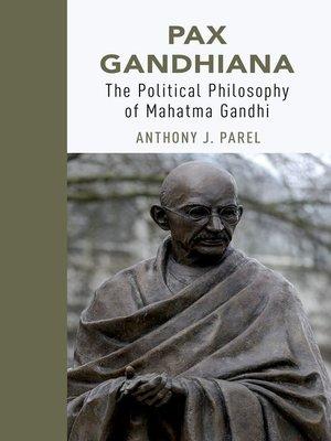 cover image of Pax Gandhiana