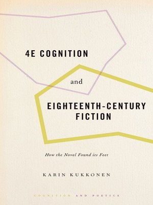 cover image of 4E Cognition and Eighteenth-Century Fiction