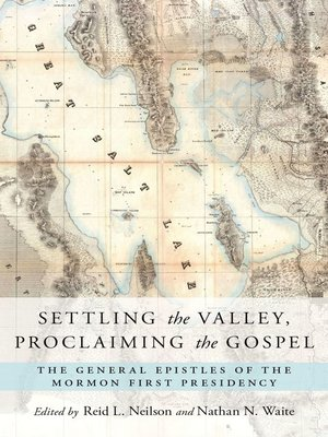 cover image of Settling the Valley, Proclaiming the Gospel