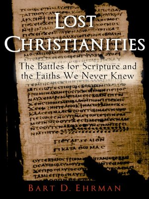 cover image of Lost Christianities