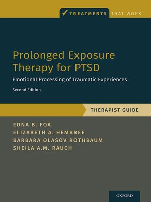 cover image of Prolonged Exposure Therapy for PTSD