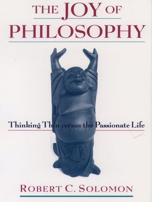 cover image of The Joy of Philosophy