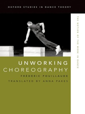 cover image of Unworking Choreography