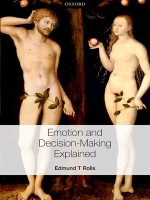 cover image of Emotion and Decision-making Explained
