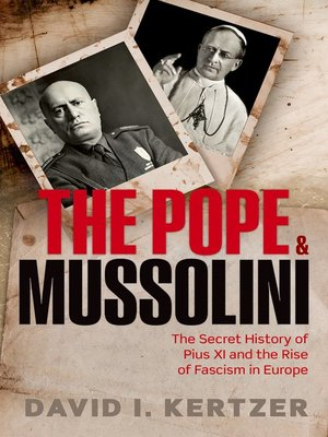cover image of The Pope and Mussolini