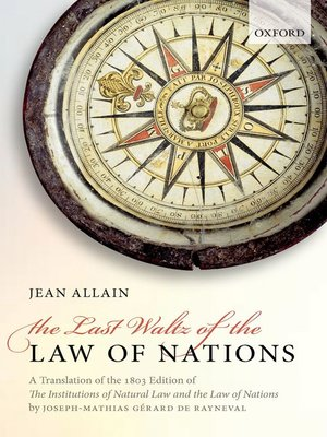 cover image of The Last Waltz of the Law of Nations