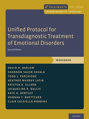 cover image of Unified Protocol for Transdiagnostic Treatment of Emotional Disorders