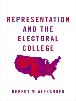 cover image of Representation and the Electoral College