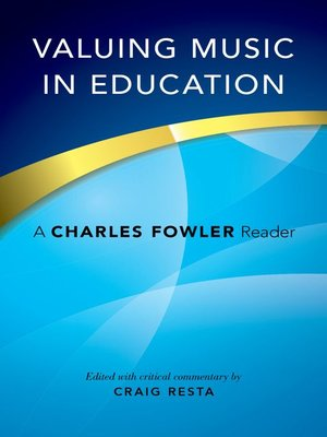 cover image of Valuing Music in Education