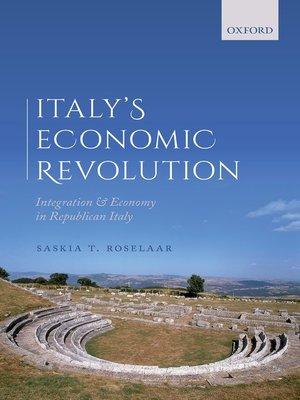 cover image of Italy's Economic Revolution