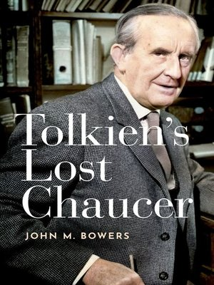 cover image of Tolkien's Lost Chaucer
