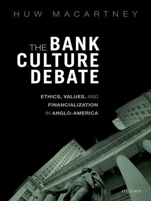cover image of The Bank Culture Debate