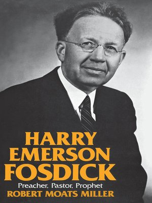 cover image of Harry Emerson Fosdick