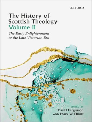 cover image of The History of Scottish Theology, Volume II