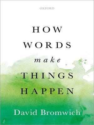 cover image of How Words Make Things Happen