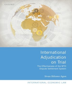cover image of International Adjudication on Trial