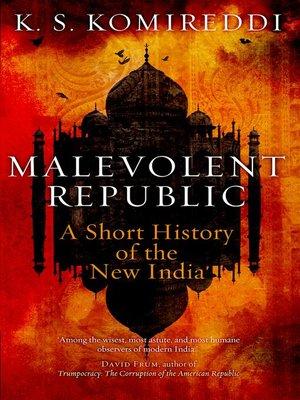 cover image of Malevolent Republic