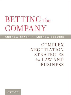 cover image of Betting the Company