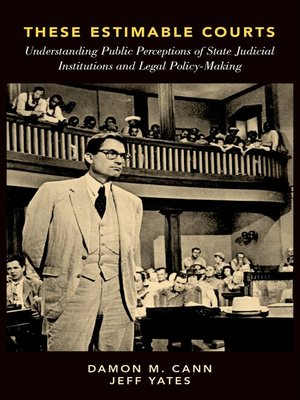 cover image of These Estimable Courts