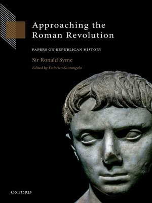 cover image of Approaching the Roman Revolution