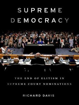 cover image of Supreme Democracy