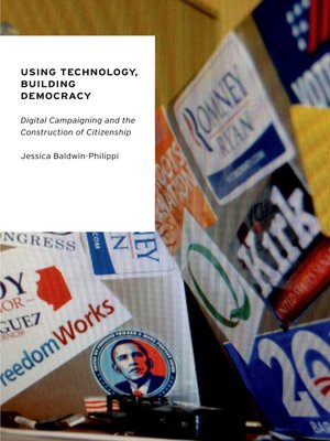 cover image of Using Technology, Building Democracy
