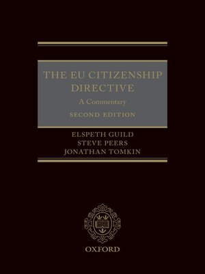 cover image of The EU Citizenship Directive